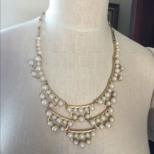 STELLA & DOT PEARL NECKLACE NWT